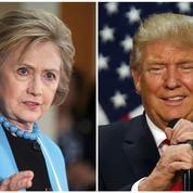 Présidentielle américaine : Clinton et Trump face-à-face
