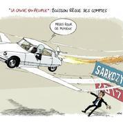 Le dessin d'Ixène : «Fantômas sort du Buisson»