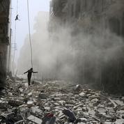 À Alep, la tactique du champ de ruines