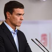 Espagne: Pedro Sanchez, chef d'un Parti socialiste en crise, démissionne