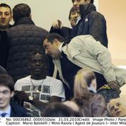 Mario Balotelli a embouti ... la voiture de son agent