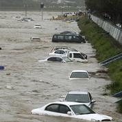 Le typhon Chaba ravage la Corée du Sud