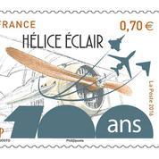 Un timbre pour célébrer l'hélice qui a révolutionné l'aviation