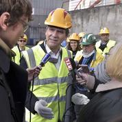 De retour à Florange, Montebourg grille la politesse à Hollande