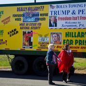 La campagne américaine s'enfonce dans la boue