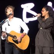 Rihanna a donné un coup de jeune au Desert Trip Festival