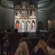 L'Adoration de l'Agneau mystique reprend des couleurs