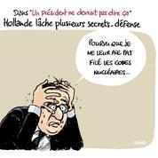Le dessin d'Ixène : «Confidences-Défense»