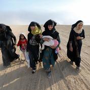 Irak : les images émouvantes des habitants sur le chemin de leurs villages libérés