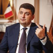Volodymyr Hroïsman: «La corruption prive mon pays, l'Ukraine, d'avenir»