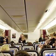 Air France : des musiciens jouent du Vivaldi en plein vol