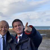 2017 : Le Drian estime que Valls est «le mieux placé» si jamais...