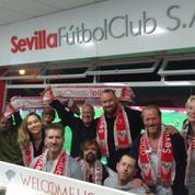 Les stars de Game of Thrones dans les tribunes pour Séville-Barcelone