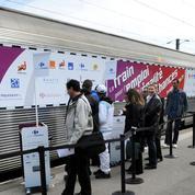 Le Train pour l'emploi démarre à Paris