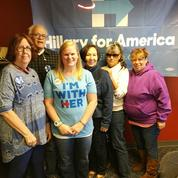 Dans le Montana, les bénévoles bleus ne baissent pas les bras