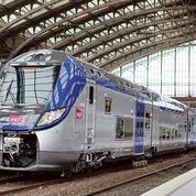 À Saint-Lazare, les futurs trains Corail pourront se croiser, mais de justesse