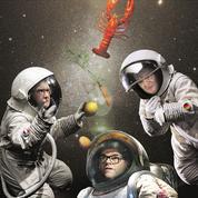 Les chefs cuisiniers à la conquête de l'espace