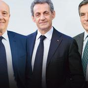 Sondage: entre Juppé, Sarkozy et Fillon, les écarts se resserrent