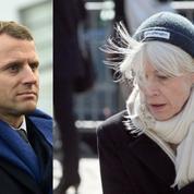 Françoise Hardy en marche avec Emmanuel Macron