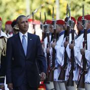 À Athènes, Barack Obama se pose en défenseur de l'union