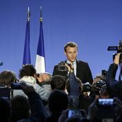 Macron se présente en candidat «antisysteme»