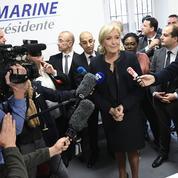 L'équipe de campagne de Marine Le Pen, melting pot des différents clans du FN