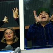 Coupe Davis : Diego Maradona vient soutenir l'Argentine en Croatie