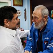 Fidel Castro, «amigo» de Diego Maradona