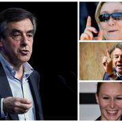 Face à François Fillon, l'argumentaire de campagne du FN fait débat