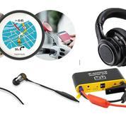 GPS, casque, batterie: un Noël en mouvement