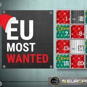 Europol lance son calendrier de l'Avent des «Most wanted»