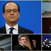 Le renoncement de Hollande a pris les politiques par surprise