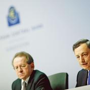 La BCE va continuer à déverser des liquidités mais avec un peu de modération