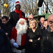 Au marché de Noël des Champs-Élysées, Marine Le Pen célèbre «le Paris populaire»