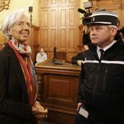 Christine Lagarde «consternée» par l'arbitrage Tapie