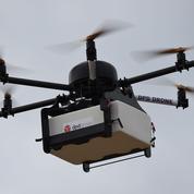 La Poste a livré son premier colis par drone
