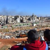 Alep: les premières sorties de l'enfer