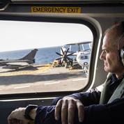 Amiral Lebas:«Le Charles-de-Gaulle a rempli sa mission contre Daech»