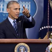Obama tire à boulets rouges sur Poutine et la Russie