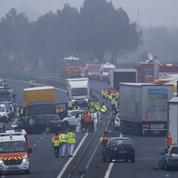 Cinq morts dans un carambolage géant en Vendée
