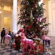 Quand les sapins de Noël deviennent des arbres festifs