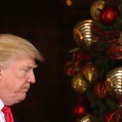 Partie d'échecs entre Barack Obama et Donald Trump