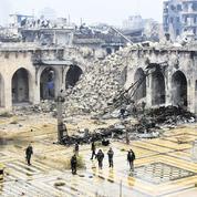 À Alep, dans les ruines de la vieille ville dévastée