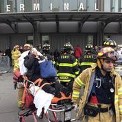 New York : le déraillement d'un train fait une centaine de blessés