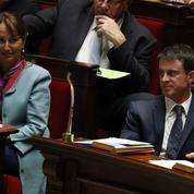 Malgré leurs slogans similaires, Royal affiche ses divergences avec Valls