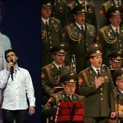 Les Chœurs de l'Armée Rouge chanteront avec le fils de Joe Dassin à Pleyel