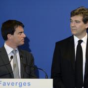 Primaire à gauche : Manuel Valls donné perdant face à Arnaud Montebourg