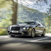 Bentley Continental Supersports, le coupé 4 places le plus rapide du monde