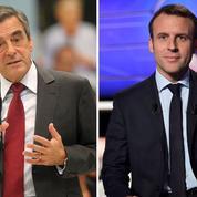 François Fillon et Emmanuel Macron se font concurrence en Allemagne