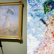 Un tableau de Monet transformé en tricot fait sa pelote à New York